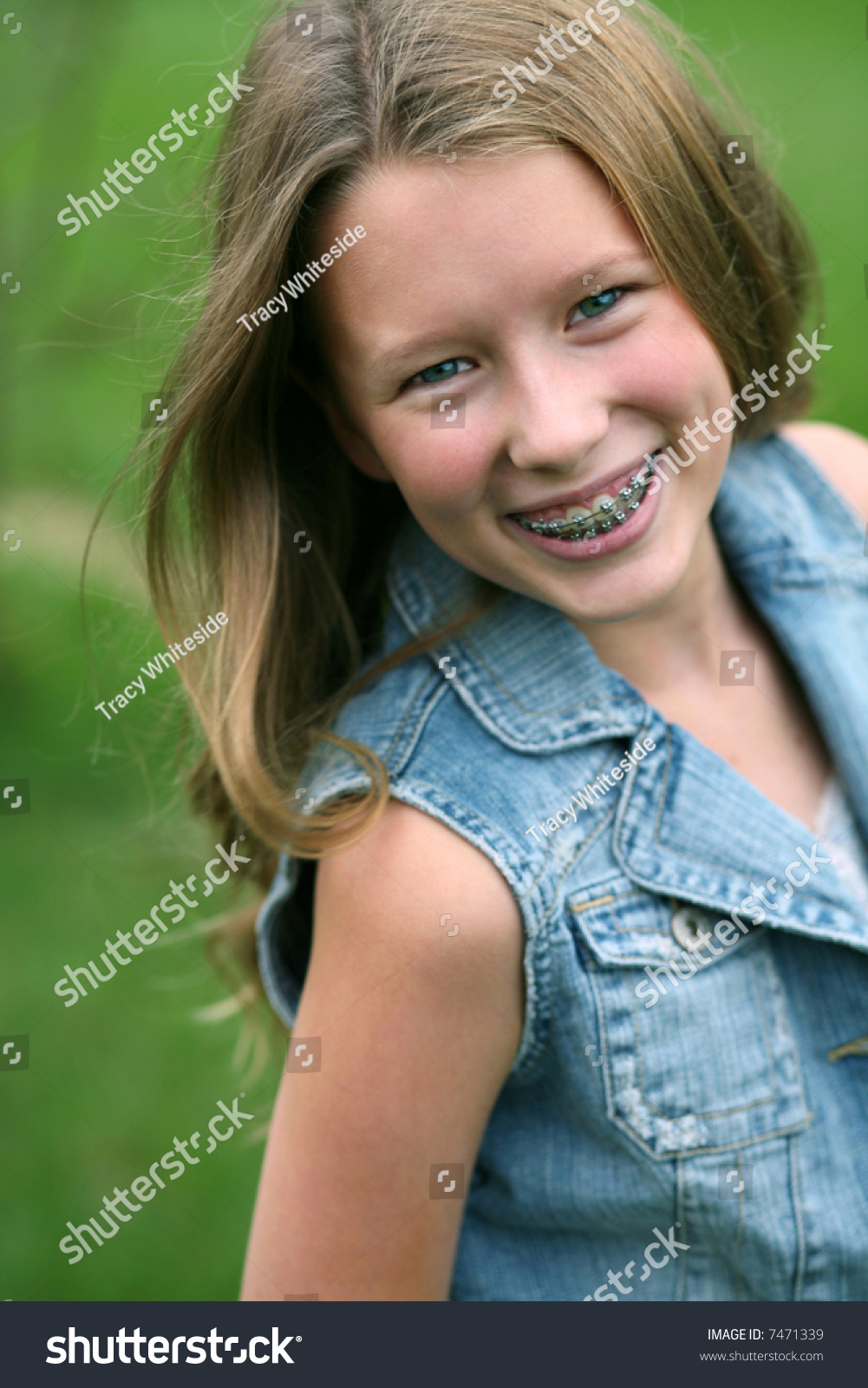 Useful message Young teen girls braces facial remarkable, this