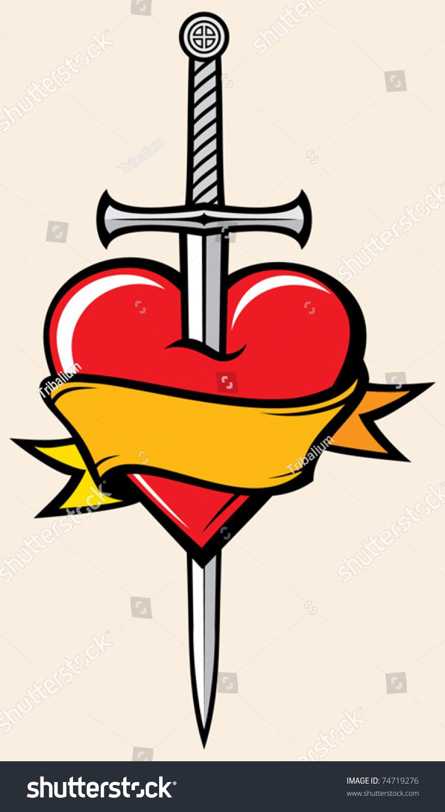 Sword Heart Symbol