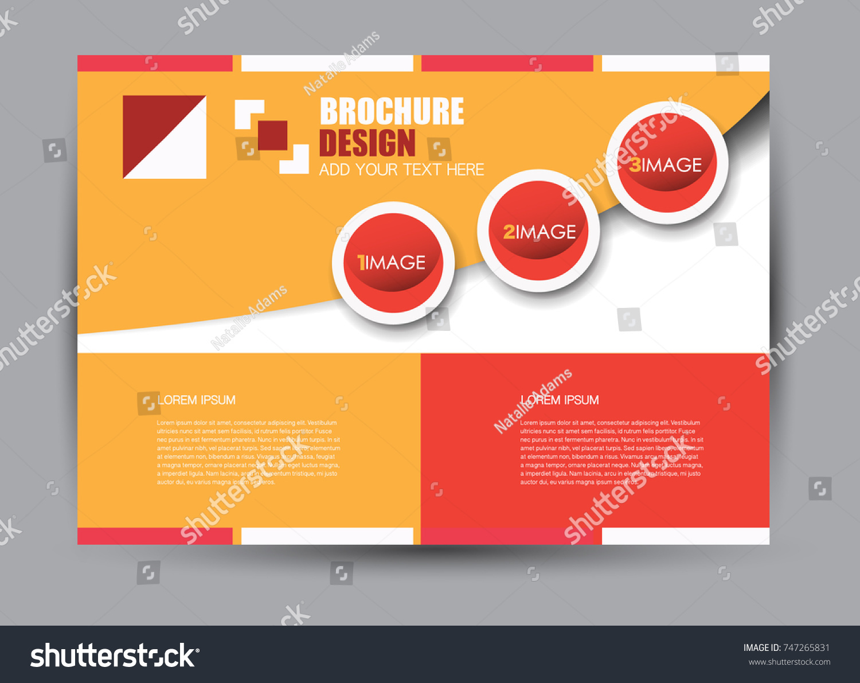 Flyer Brochure Billboard Template Design Landscape Vector de stock ...