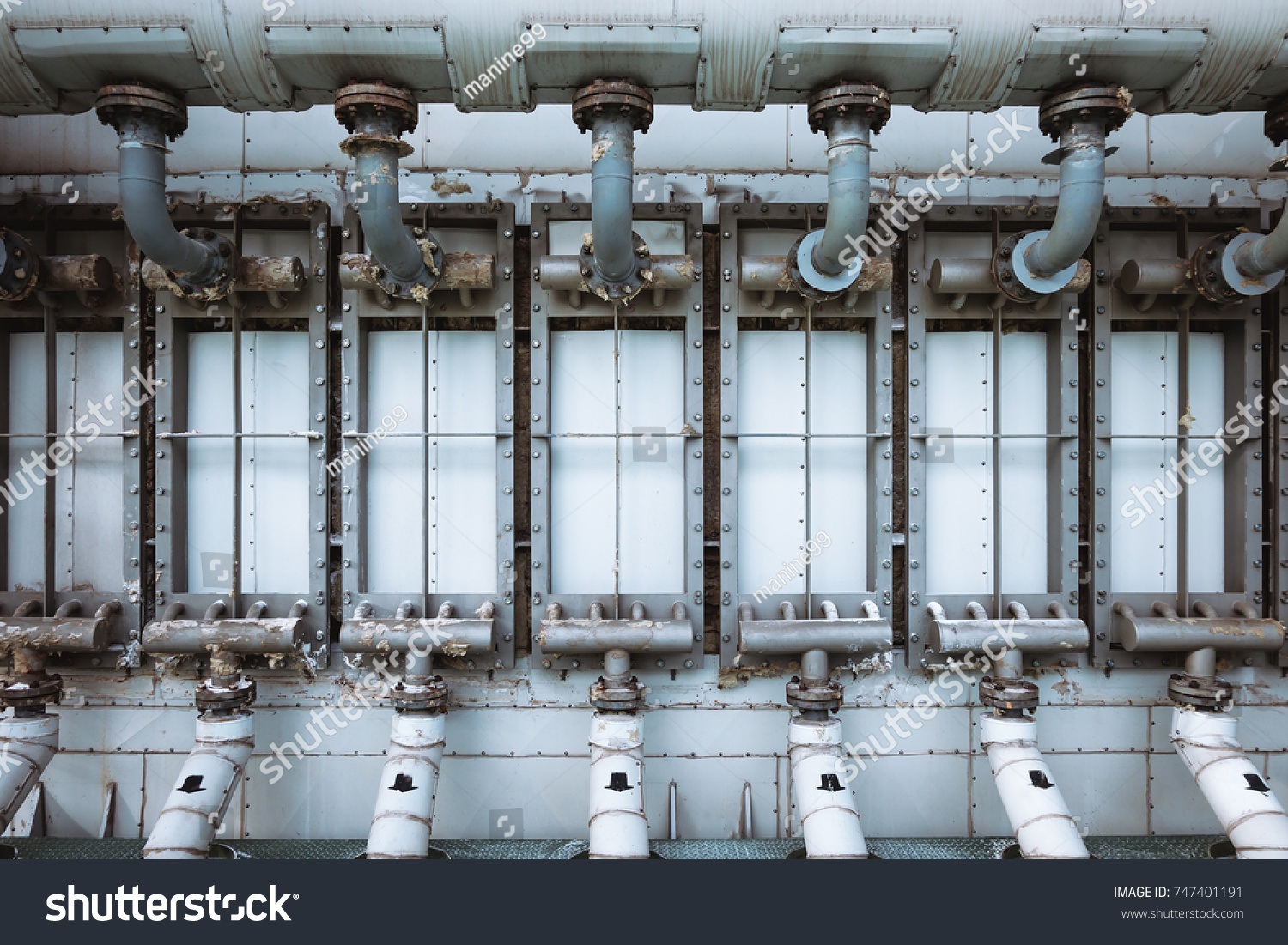 Direct Heat Exchanger Factory Steam Heating Stock Photo (Royalty ...