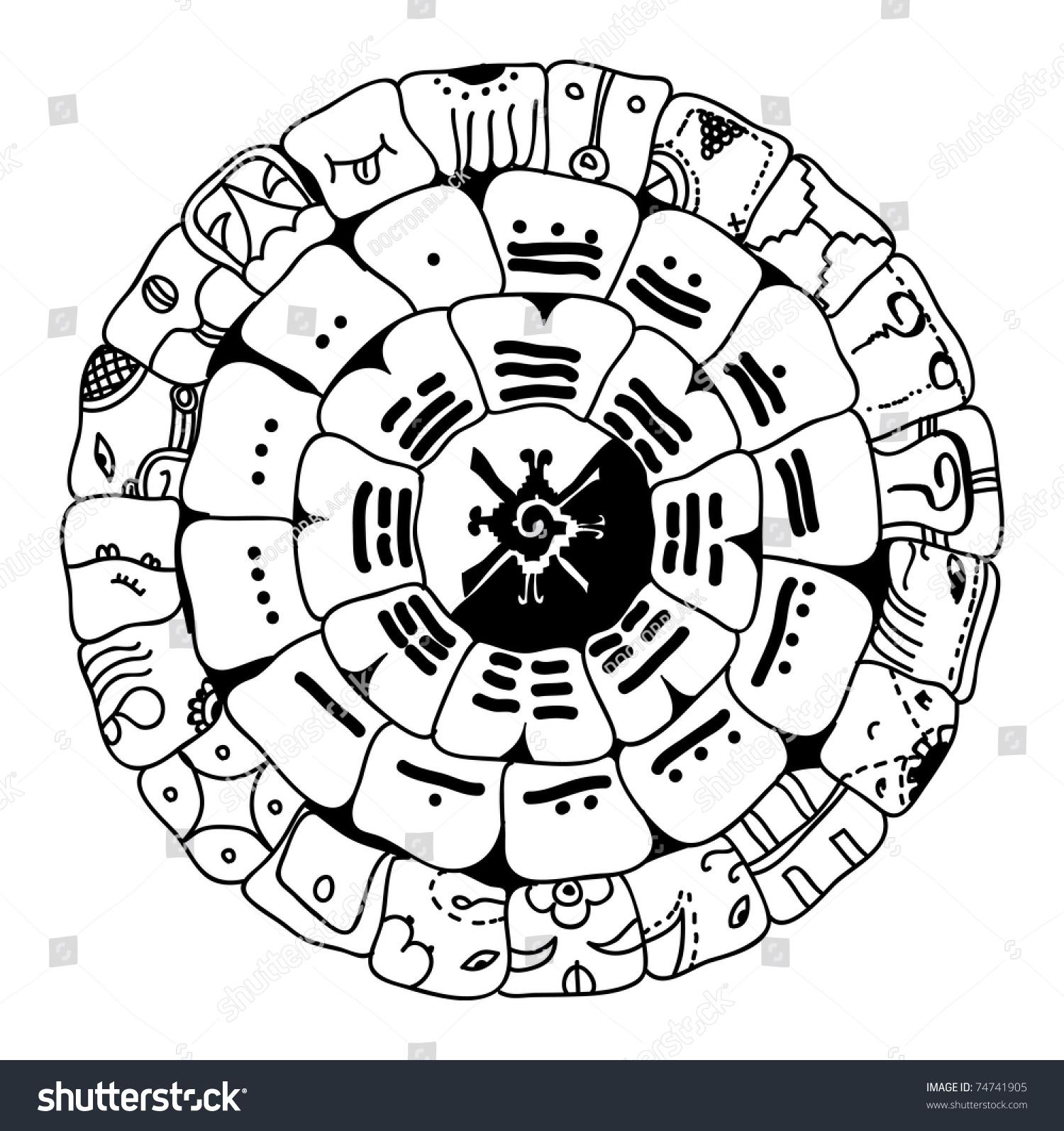 vector maya symbol 74741905 shutterstock