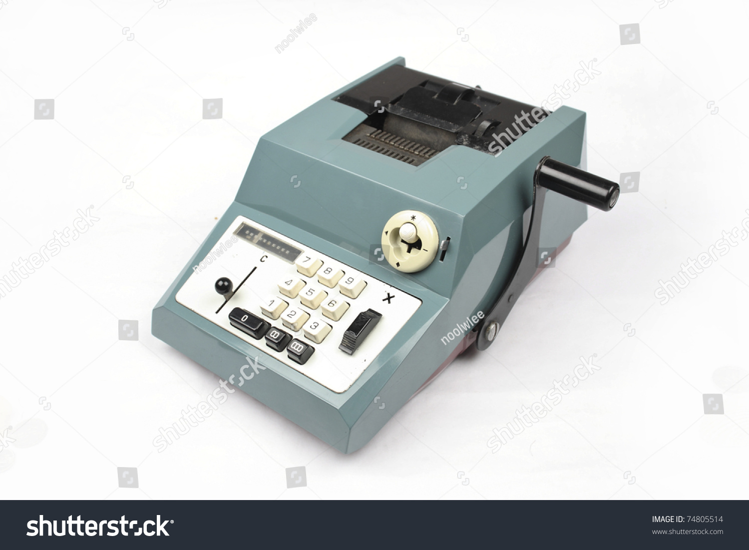 Old Calculator Stock Photo Edit Now 74805514 Shutterstock Circuitry Of An Electronic Royalty Free Photography