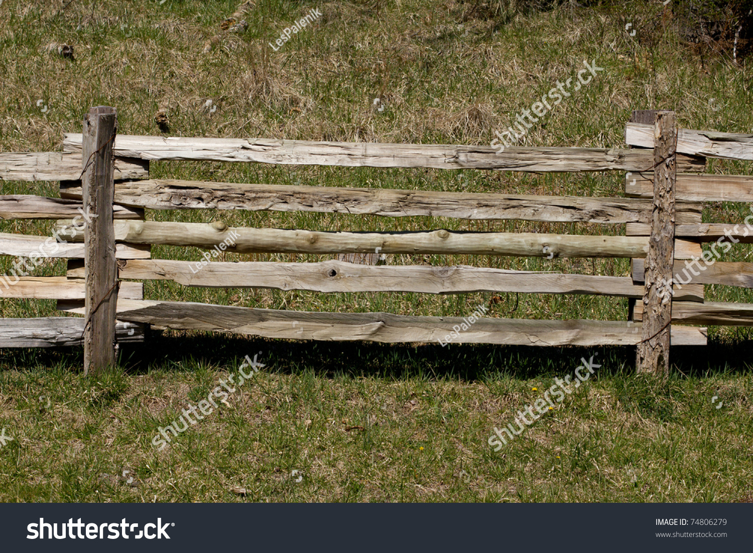 Old wooden rail fence stock photo 74806279 shutterstock old wooden rail fence baanklon Gallery