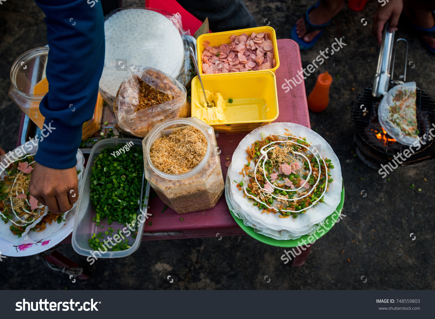 Street food asia cooking on streets stock photo 748559803 street food in asia cooking on the streets while traveling forumfinder Images