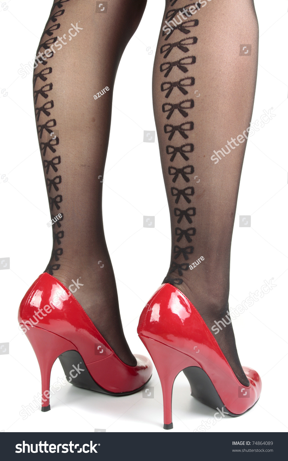 Unique Beautiful Ladies Footwear Boots And Pumps Stock Photo - Image 31419502