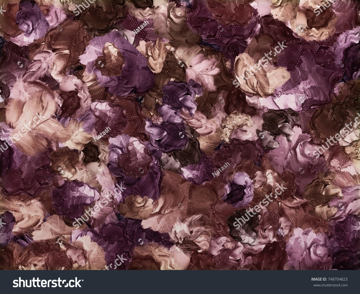 Abstract Vintage Floral Computer Background Created Stock Photo