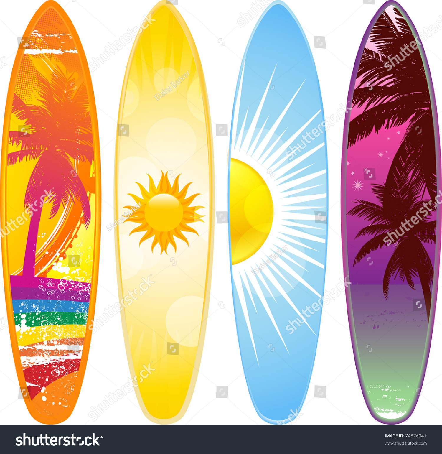 2019 year style- Designs Surfboard pictures