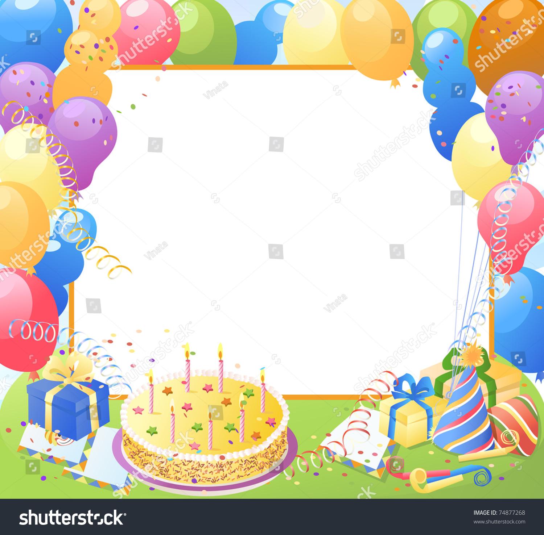 photo frame happy birthday