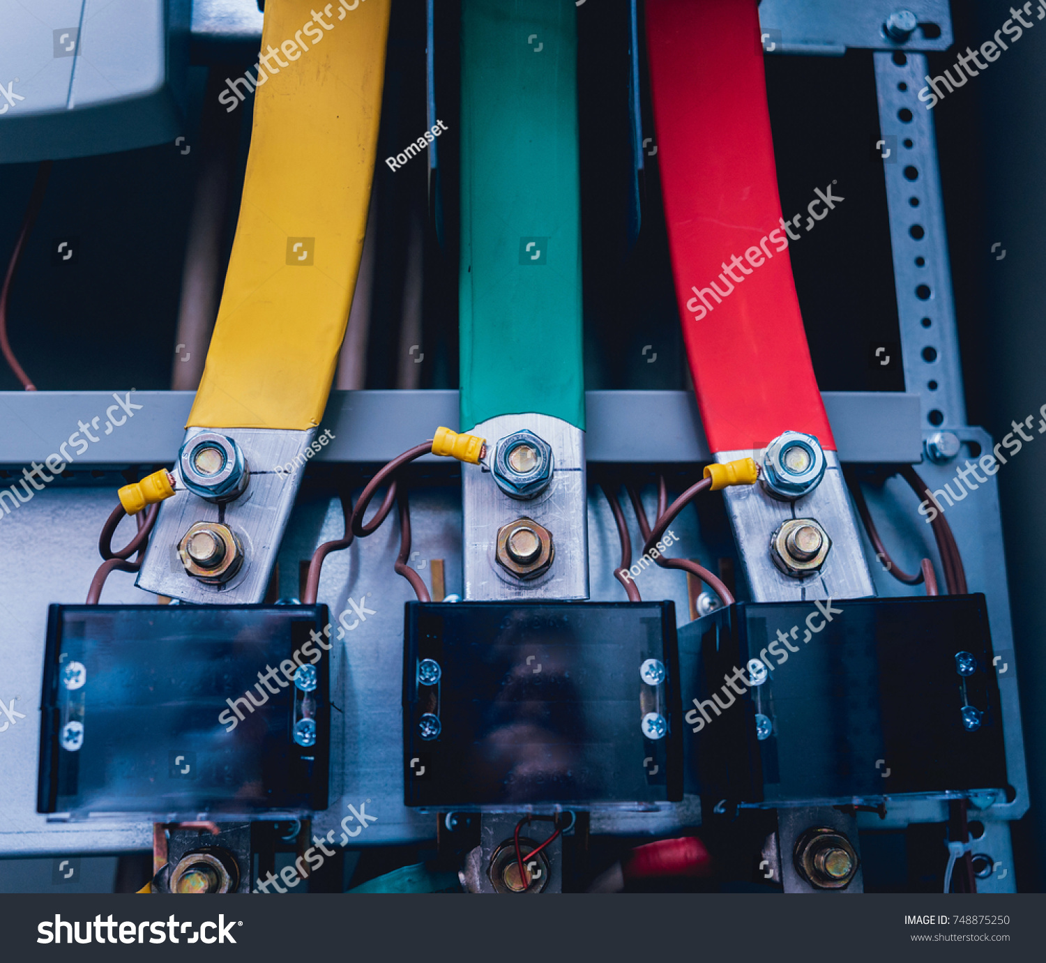 Wires Switches Electric Box Electrical Panel Stock Photo Edit Now Fuse Boxes Welcome To Shutterstock