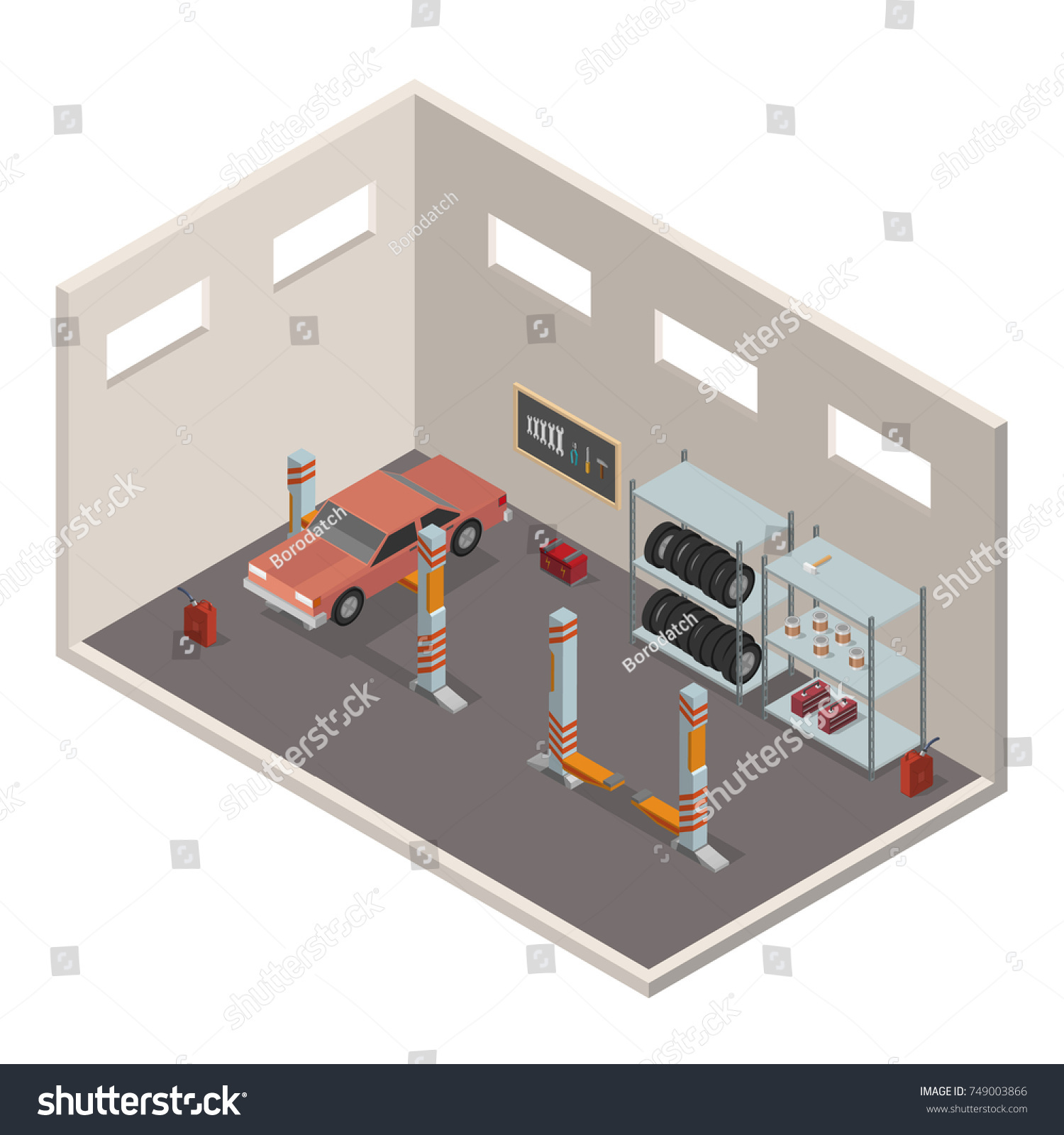 88 Car Service Center Floor Plan Car Service Center Drawing 531
