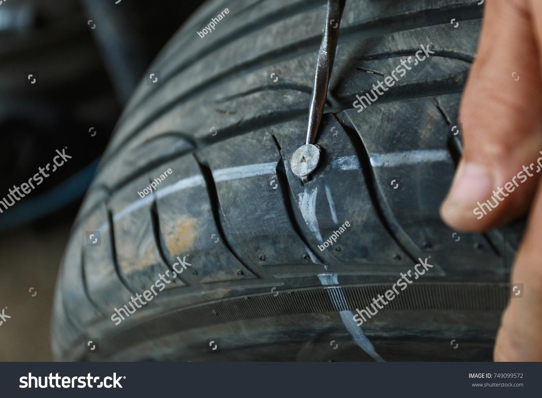Solve Problem Wheel Garage Auto Repair Stock Photo (Royalty Free ...