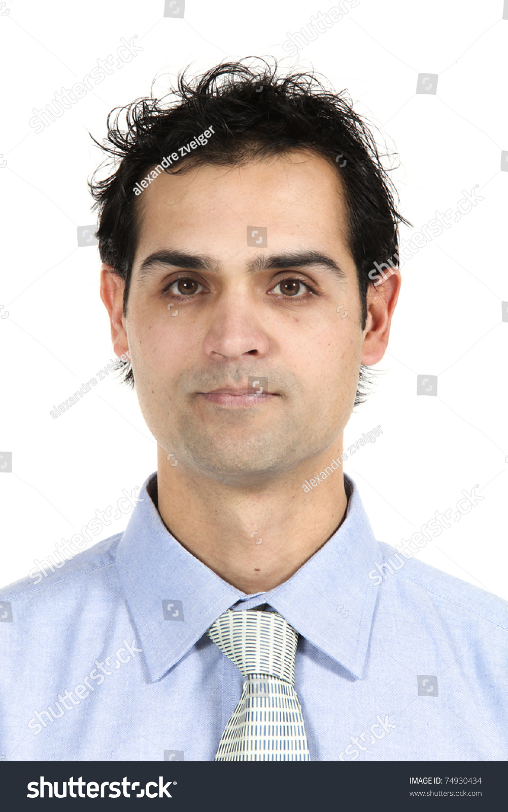 muñeco - Muñeco para calcular la estatura Stock-photo-close-up-young-businessman-isolated-on-white-background-74930434