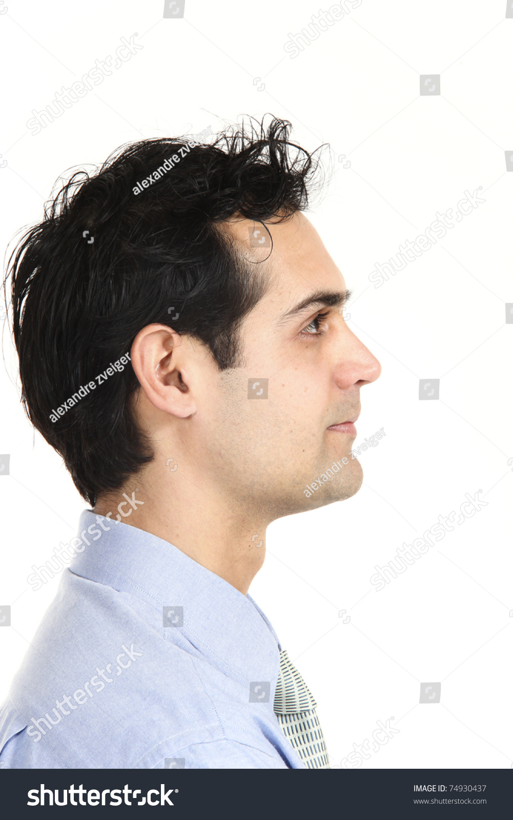 muñeco - Muñeco para calcular la estatura Stock-photo-close-up-young-businessman-isolated-on-white-background-74930437