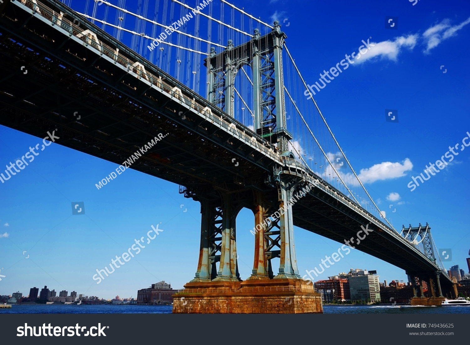 Manhattan bridge #749436625