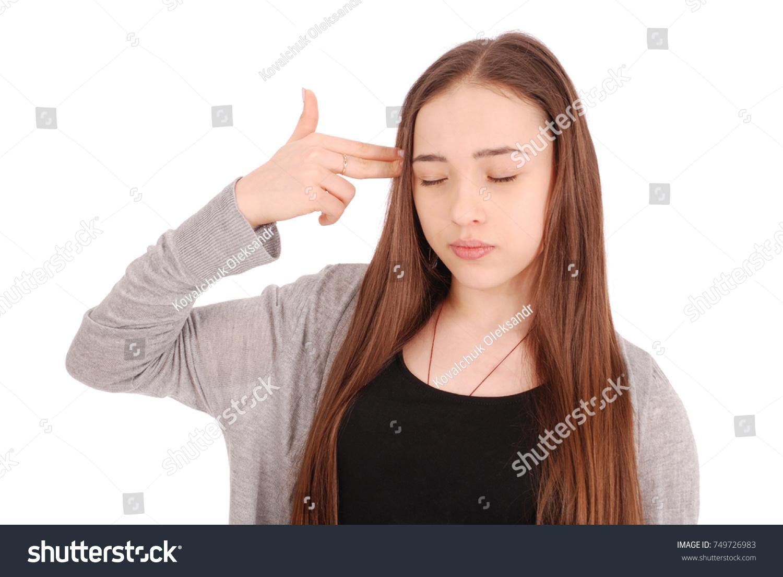 Black Teen Fingering Herself