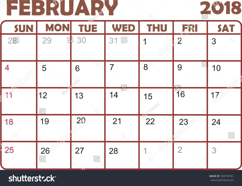 monthly calnder