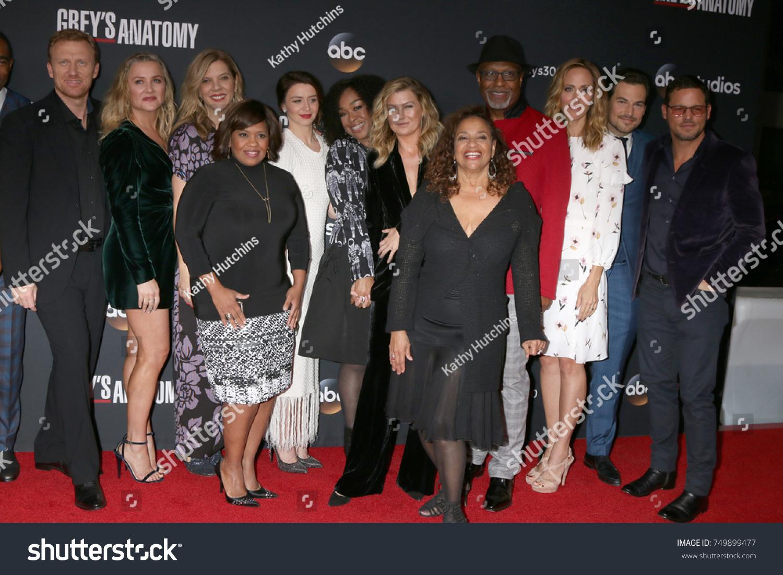 LOS ANGELES NOV 4 Greys Anatomy Stock Photo (Edit Now) 749899477 ...