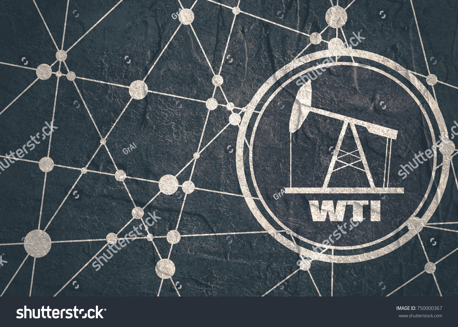 Oil pump icon wti crude oil stock illustration 750000367 shutterstock oil pump icon and wti crude oil name energy and power relative backdrop molecule biocorpaavc Image collections