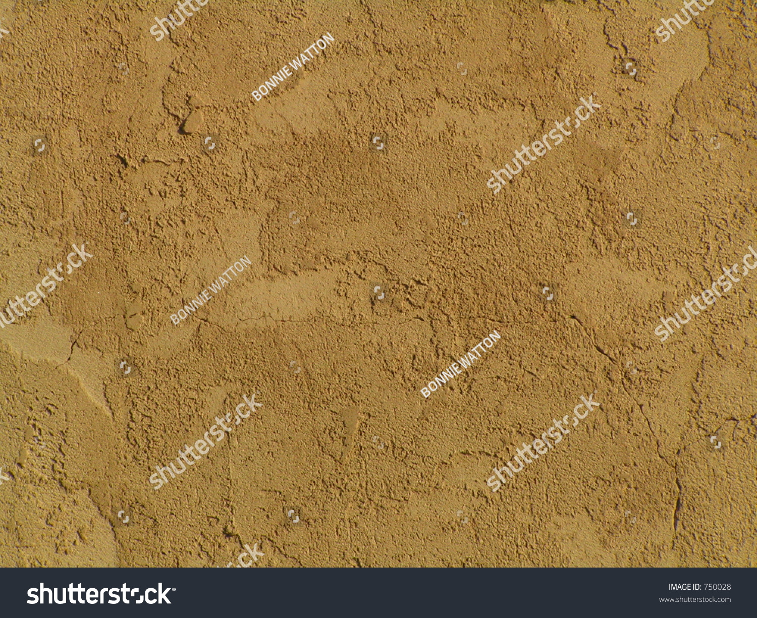 Warm light brown stucco wall stock photo 750028 shutterstock for Lightweight stucco