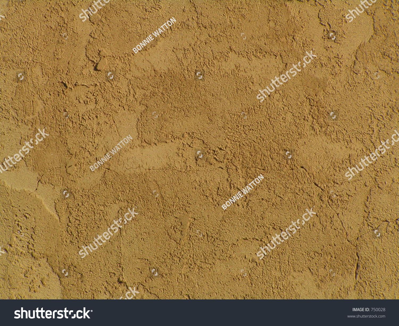 Warm light brown stucco wall stock photo 750028 shutterstock for Lightweight stucco