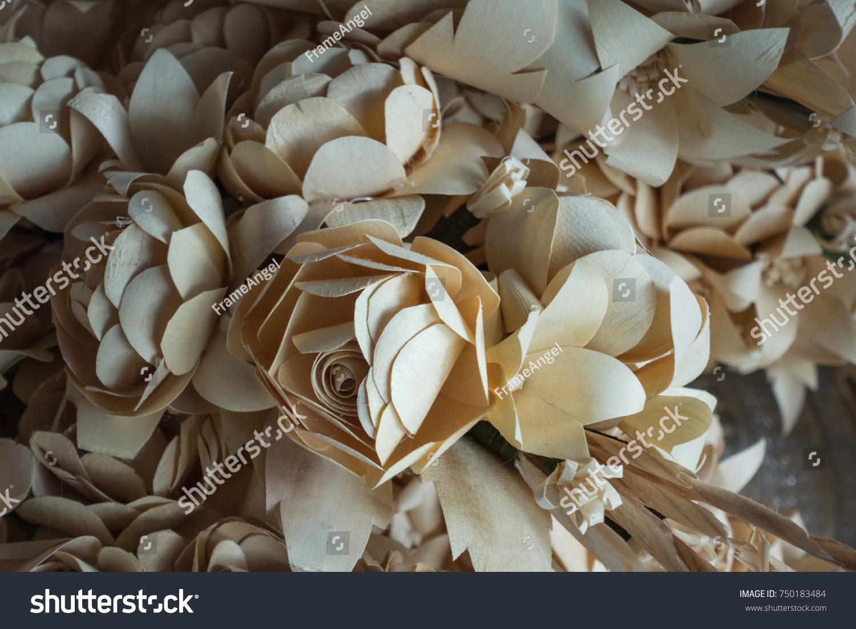 Thai Artificial Funeral Flower Dok Mai Chan Stock Photo Royalty