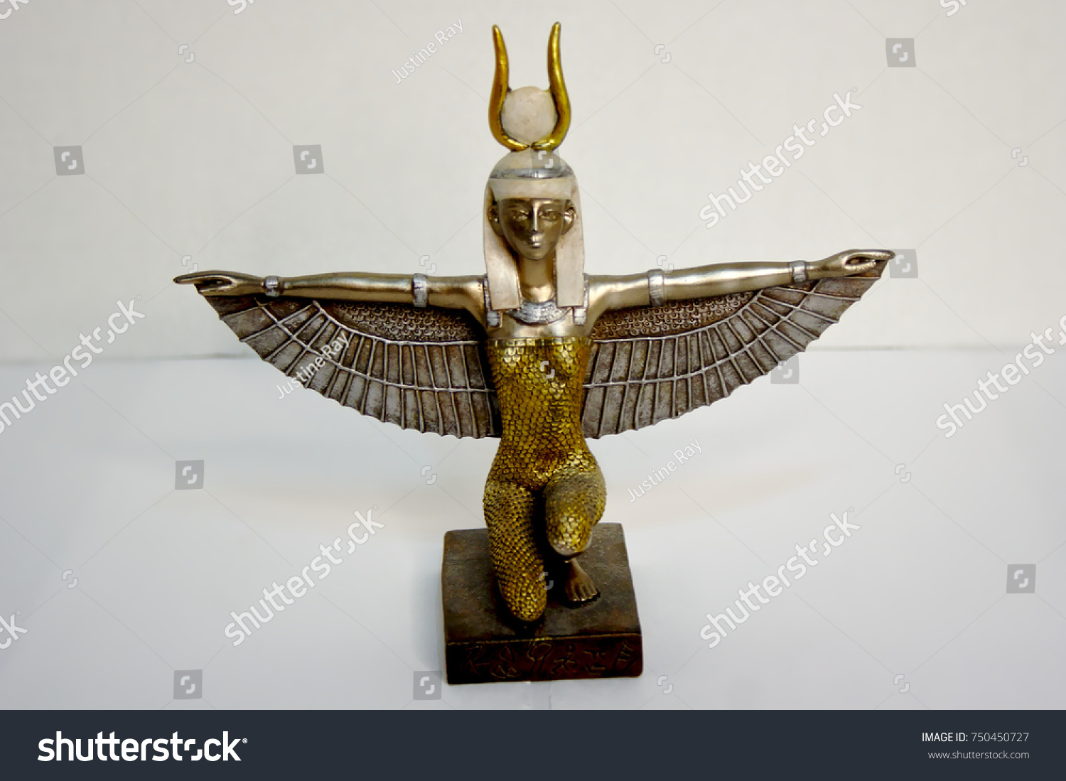 Goddess isis ancient egypt new age stock photo 750450727 goddess isis ancient egypt new age magic spiritual full angle biocorpaavc