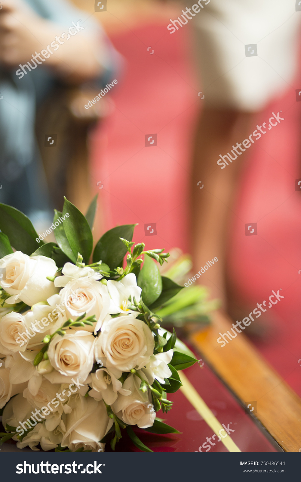 Civil non religious wedding ceremony registry stock photo edit now civil non religious wedding ceremony registry office bridal bouquet of roses flowers of the bride izmirmasajfo