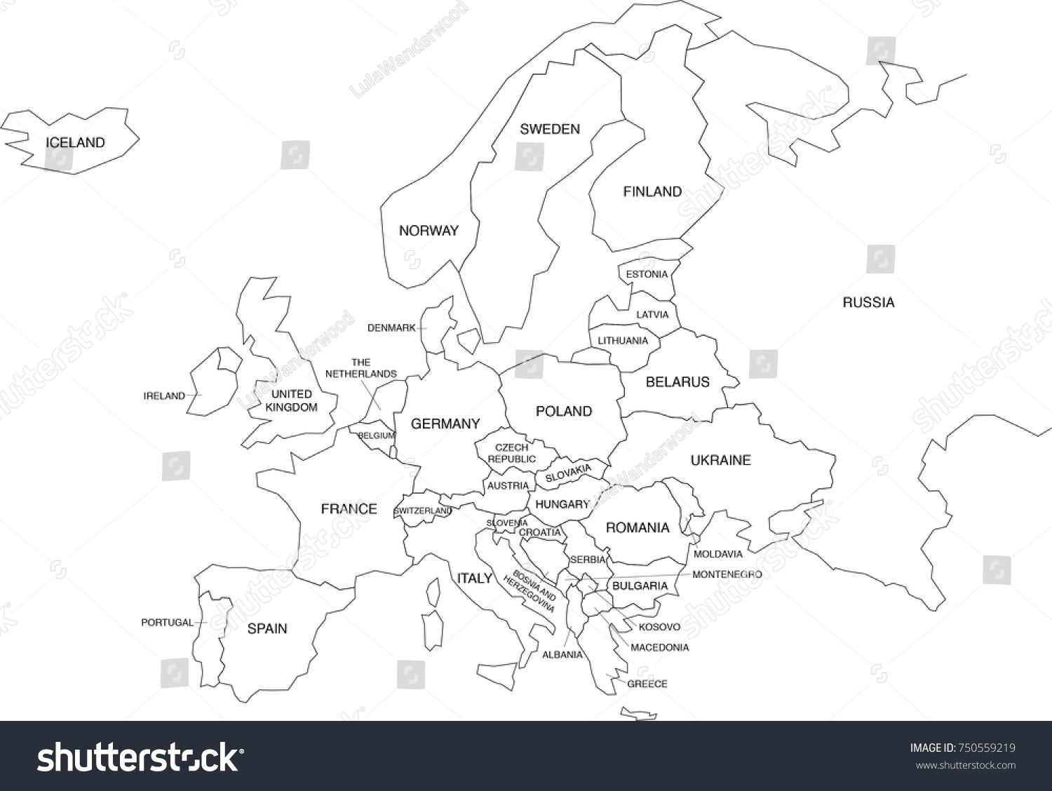 coloring map of europe - Lamasa.jasonkellyphoto.co