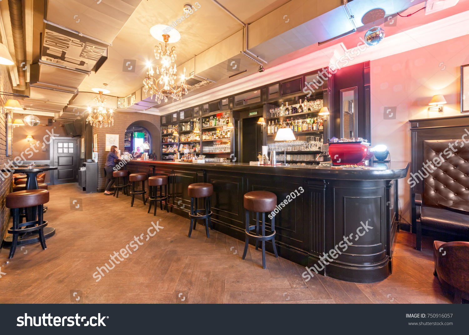 MOSCOW AUGUST 2014 Interior Small Klava Stock Photo (Royalty Free ...