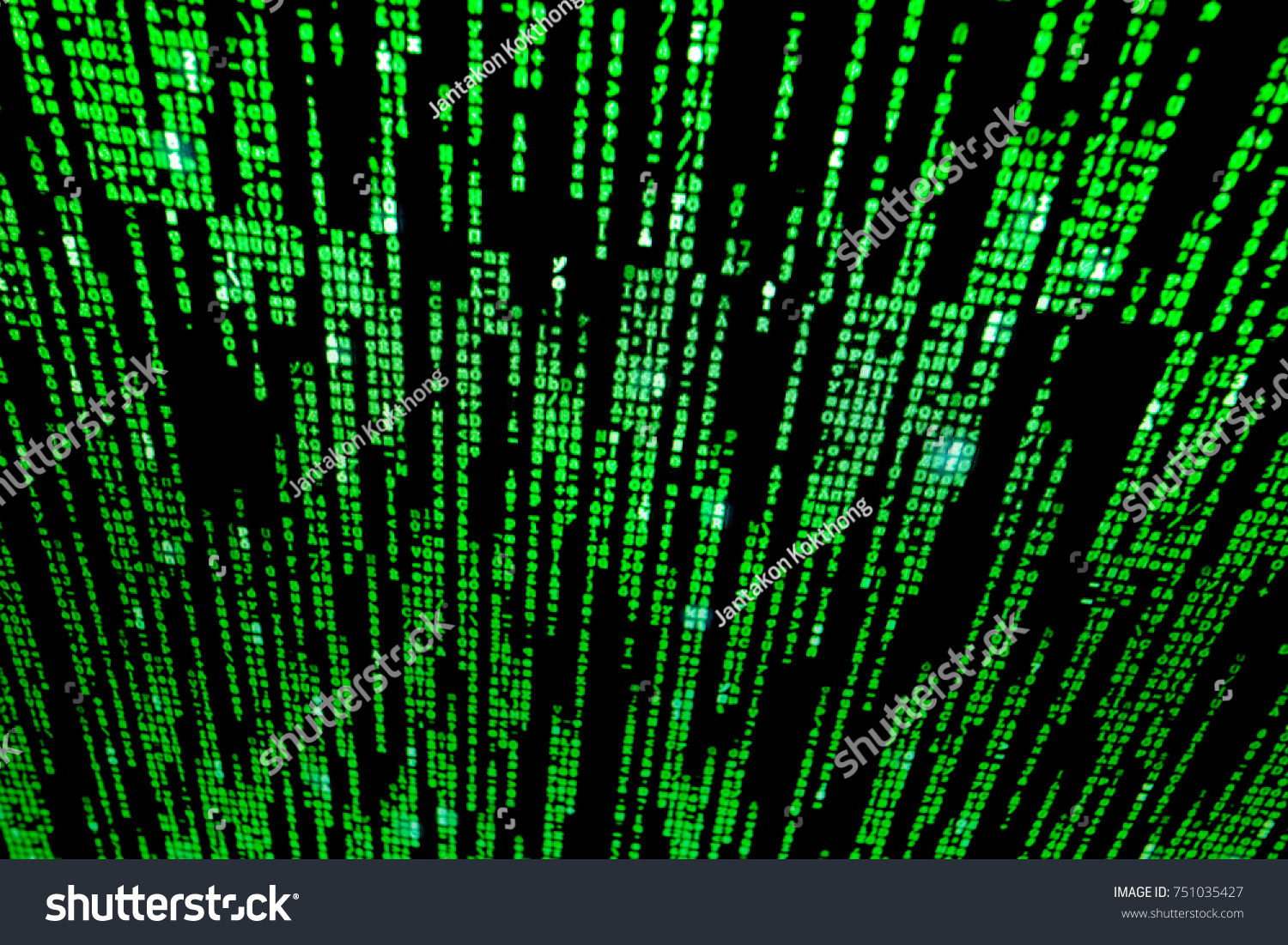 Background Matrix Style Computer Virus Hacker Stock Photo (Royalty ...