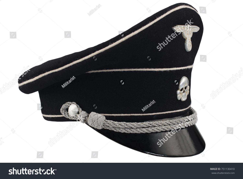 Ww2 German Nazi Ss Black Forage Stock Photo (Edit Now) 751130410