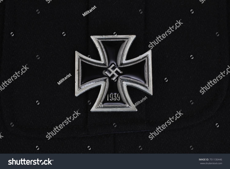 Nazi German Award Iron Cross On Stock Photo Edit Now 751130446