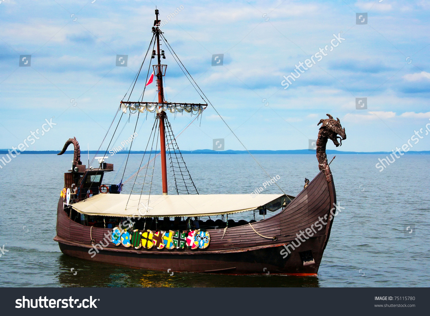 how to build a model viking ship