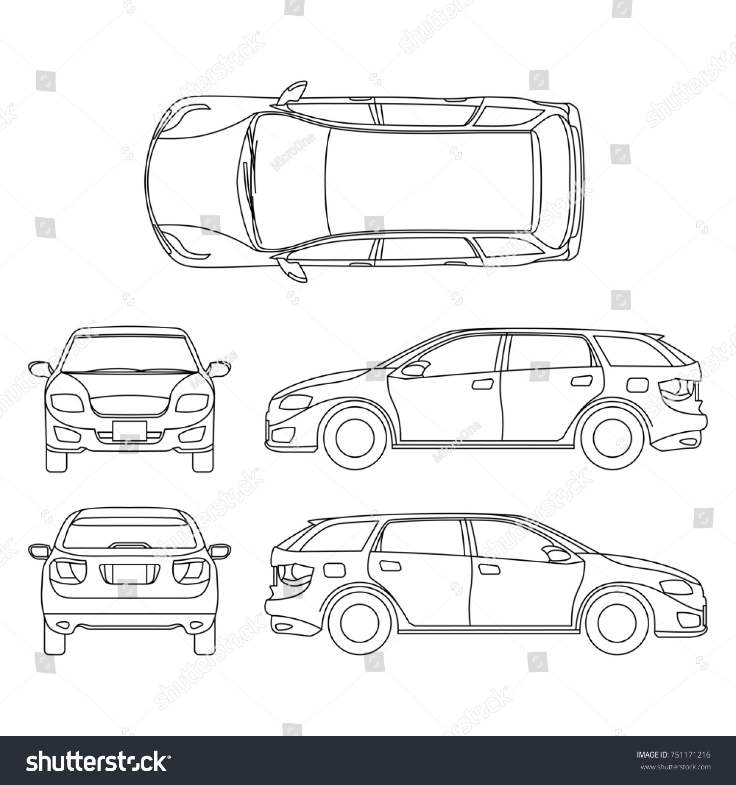 Line Drawing Vehicles : Line drawing car white vehicle computer stock illustration