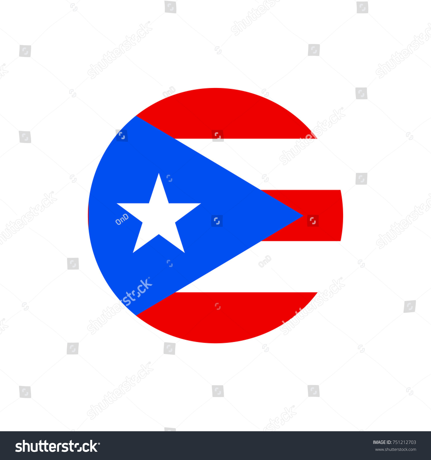 Puerto rico flag official colors proportion stock vector 751212703 puerto rico flag official colors and proportion correctly national puerto rican flag vector biocorpaavc Image collections