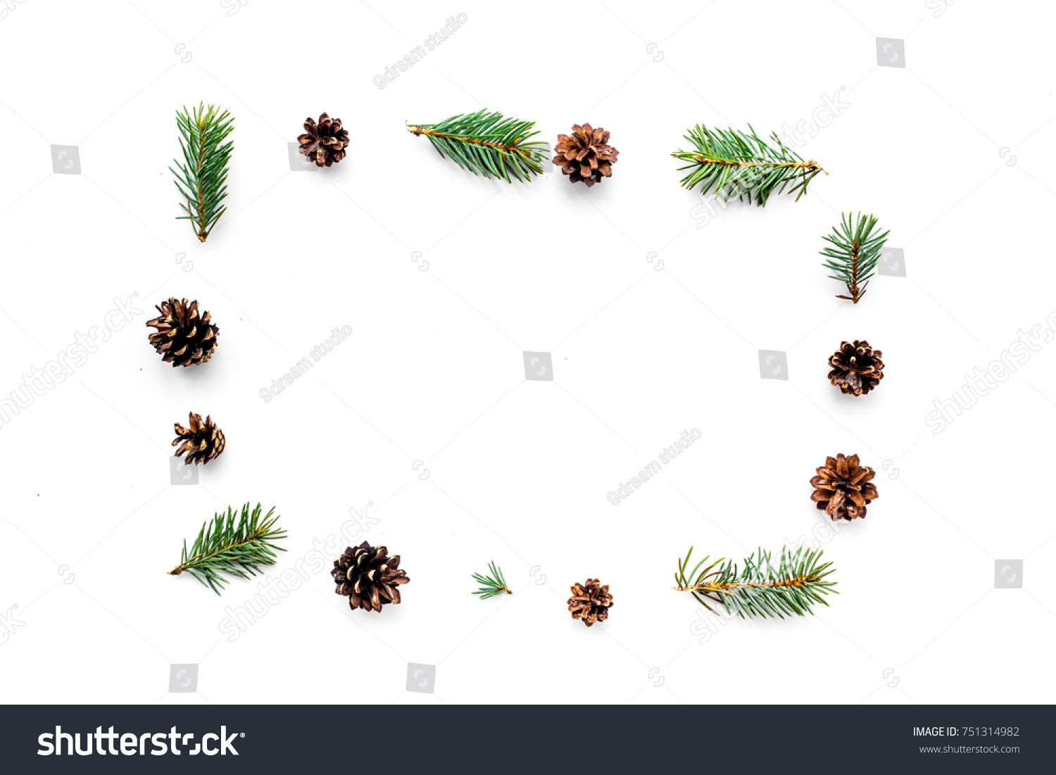 New year symbols pattern spruce branches stock photo 751314982 new year symbols pattern spruce branches and cones on white background top view copyspace biocorpaavc Image collections