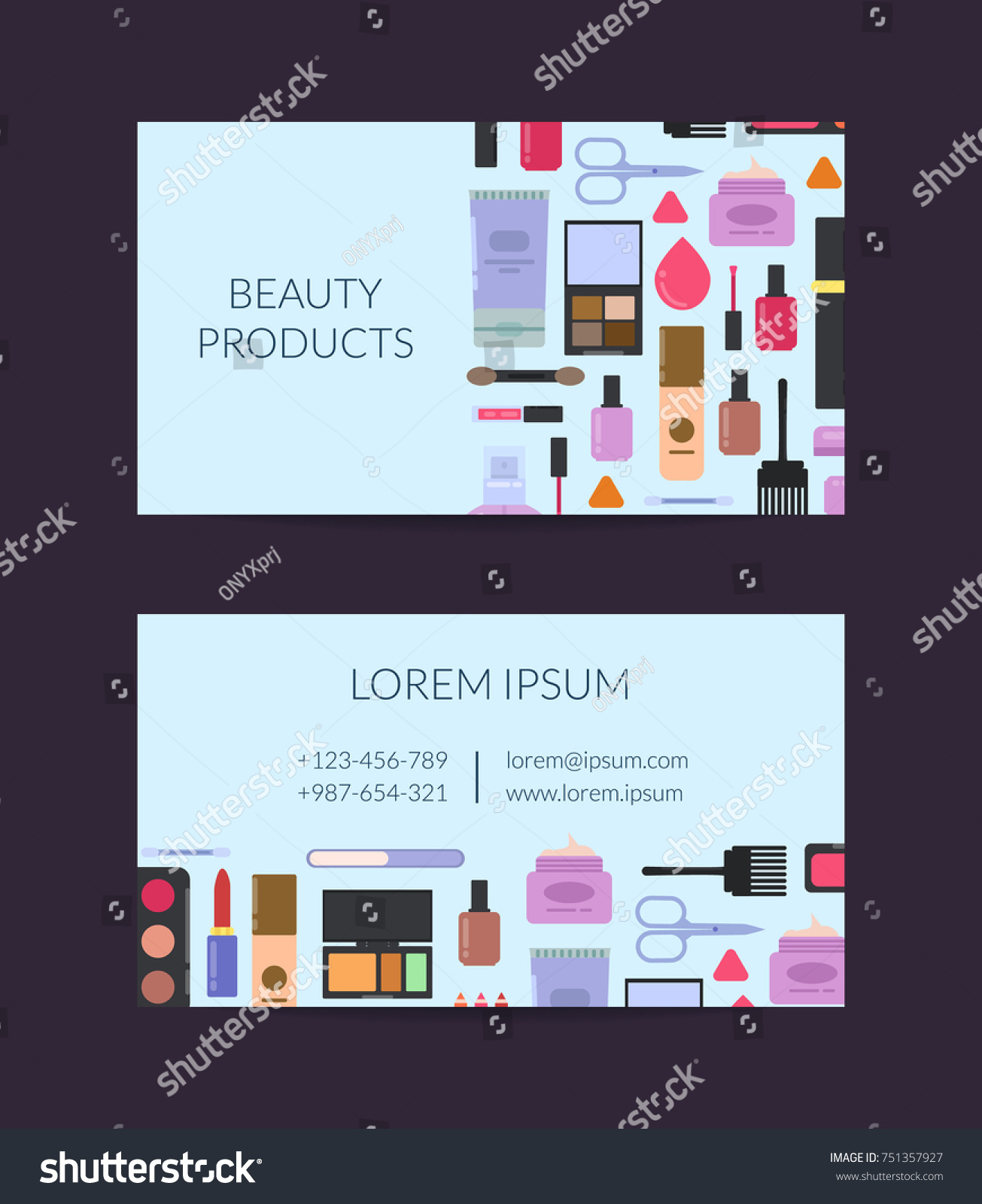 Magnificent Skin Care Business Cards Photos - Business Card Ideas ...