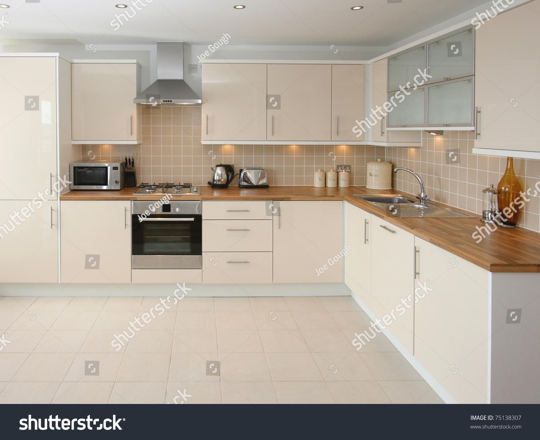 Modern Kitchen Interior Stock Photo 75138307 Shutterstock