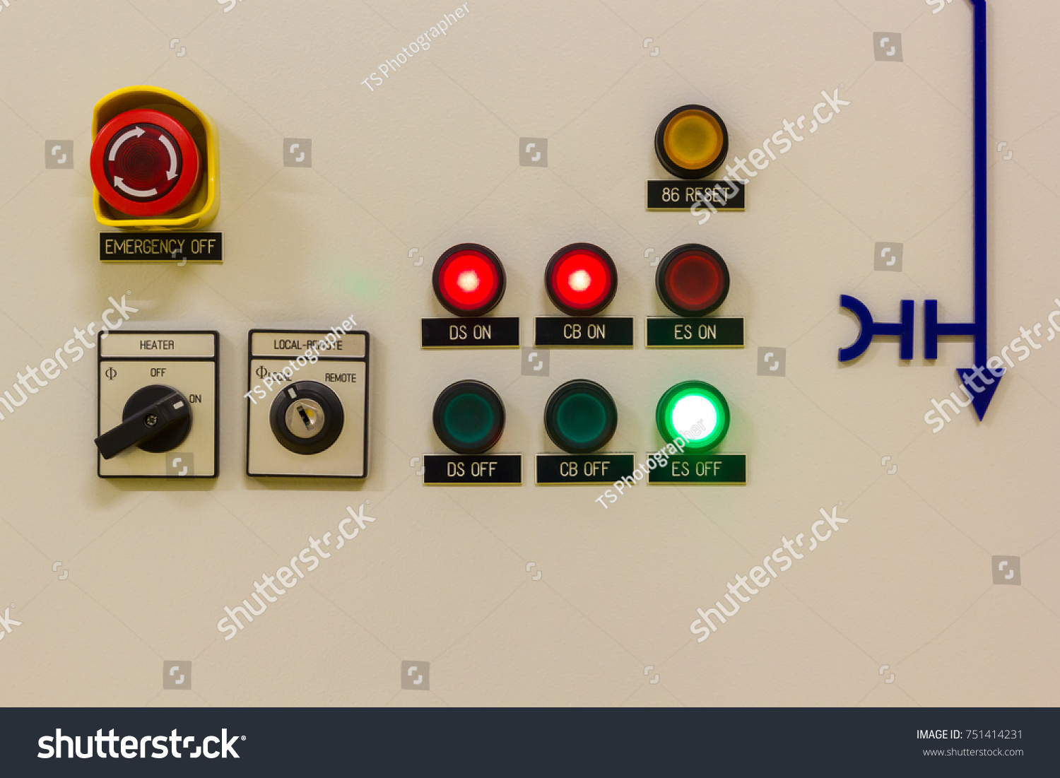 Electrical High Voltage Control Panel Gas Stock Photo Edit Now Circuit As Well Switchgear Diagram On Of The Insulated