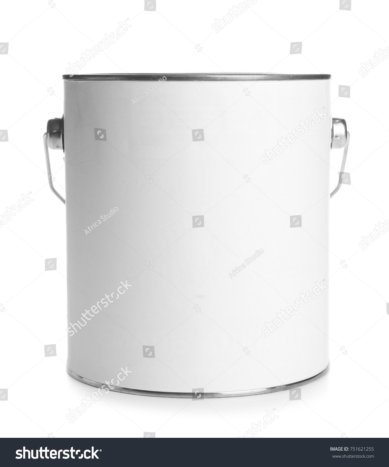 Paint can, isolated on white #751621255