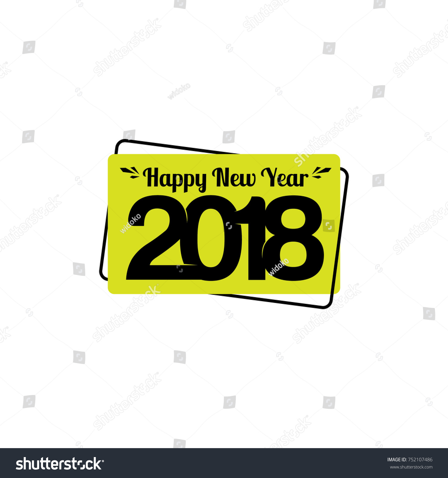 2018 happy new year trendy flat geometric vector bubbles vivid transparent banners in retro