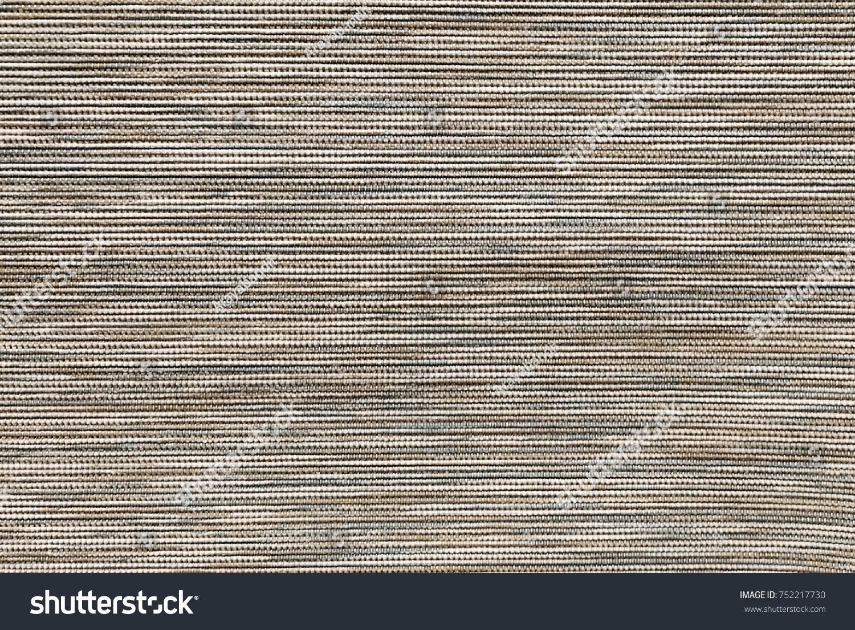 Textile Texture Close Brown White Fabric Stock Photo 752217730 ...