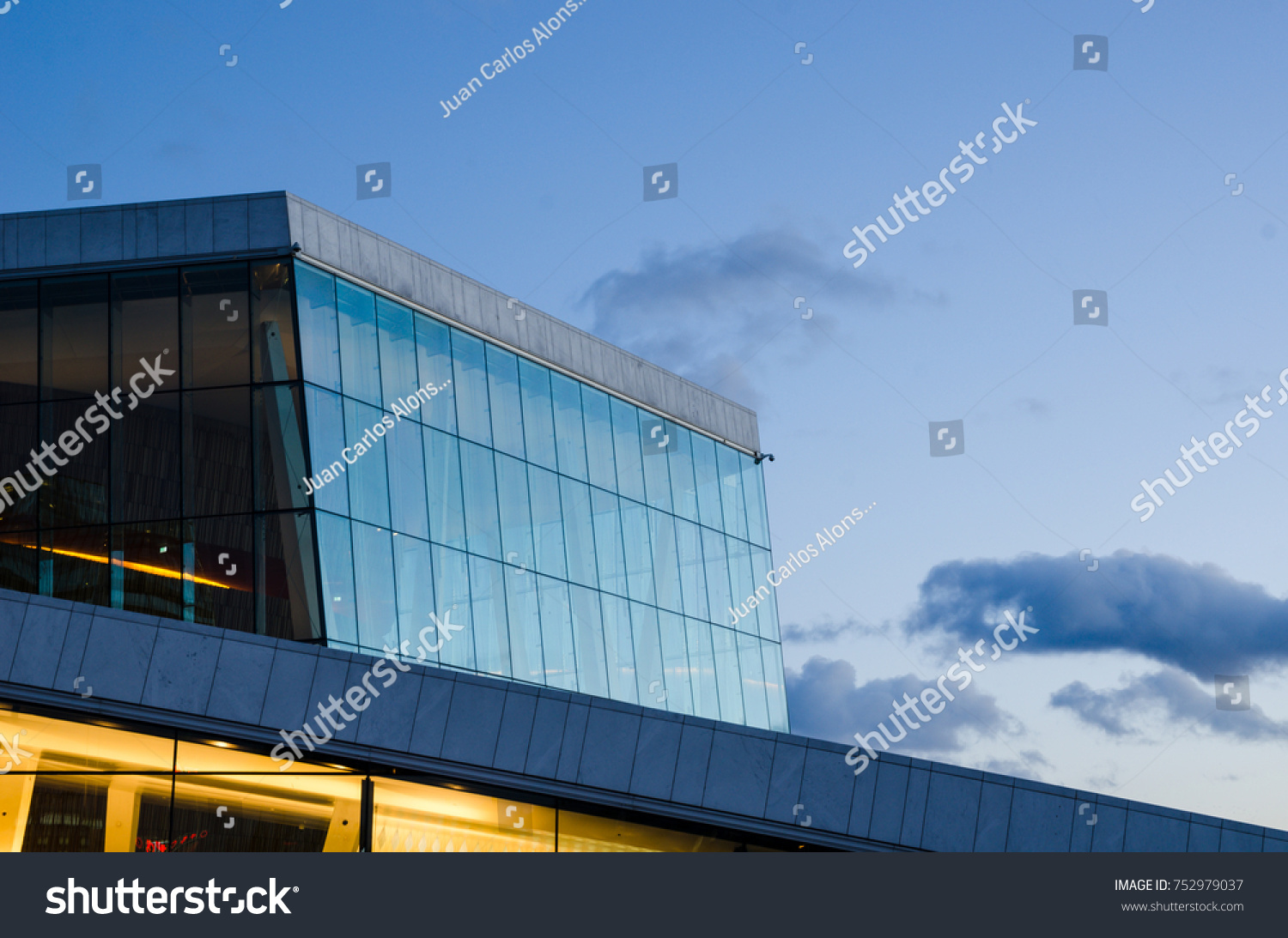 Charming Oslo Norway February 2015 Oslo Opera Stock Photo 752979037   Shutterstock Pictures