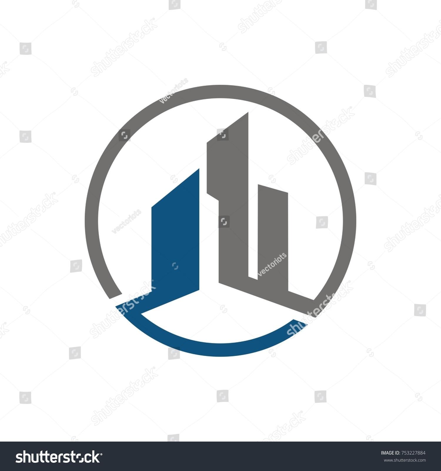 Real estate construction building logo design stock vector real estate construction building logo design template designed based in vector format biocorpaavc