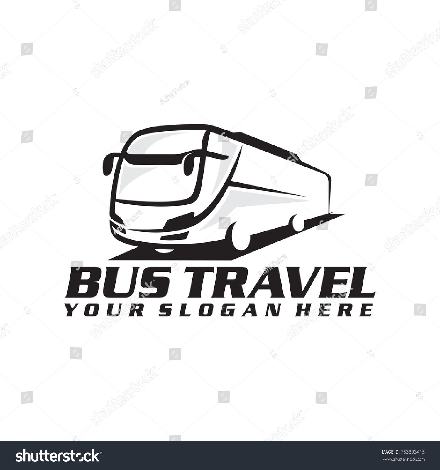Bus Logo Vector Clipart Library