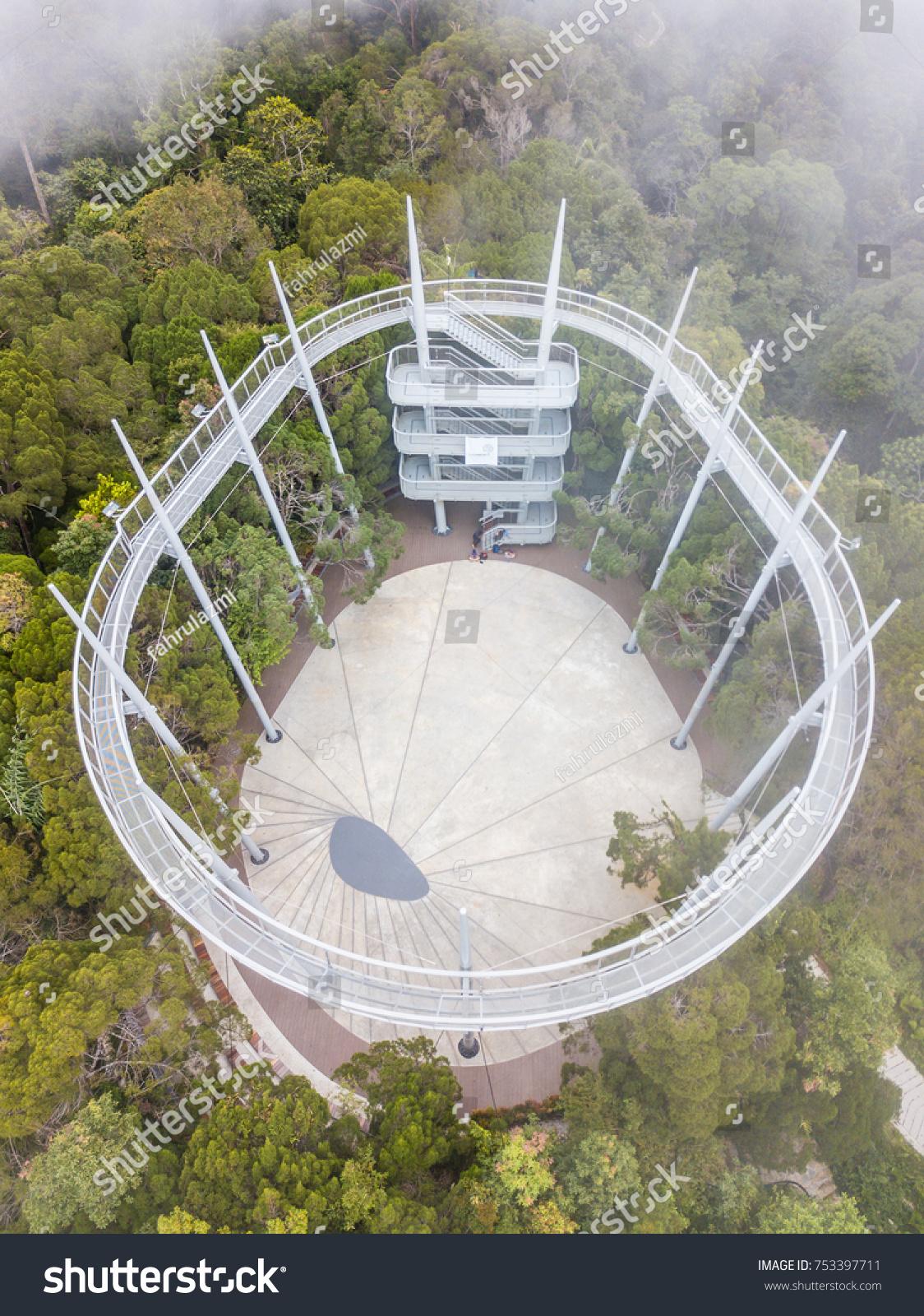 Penang Malaysia Nov 2017 Aerial View Stock Photo Royalty Free