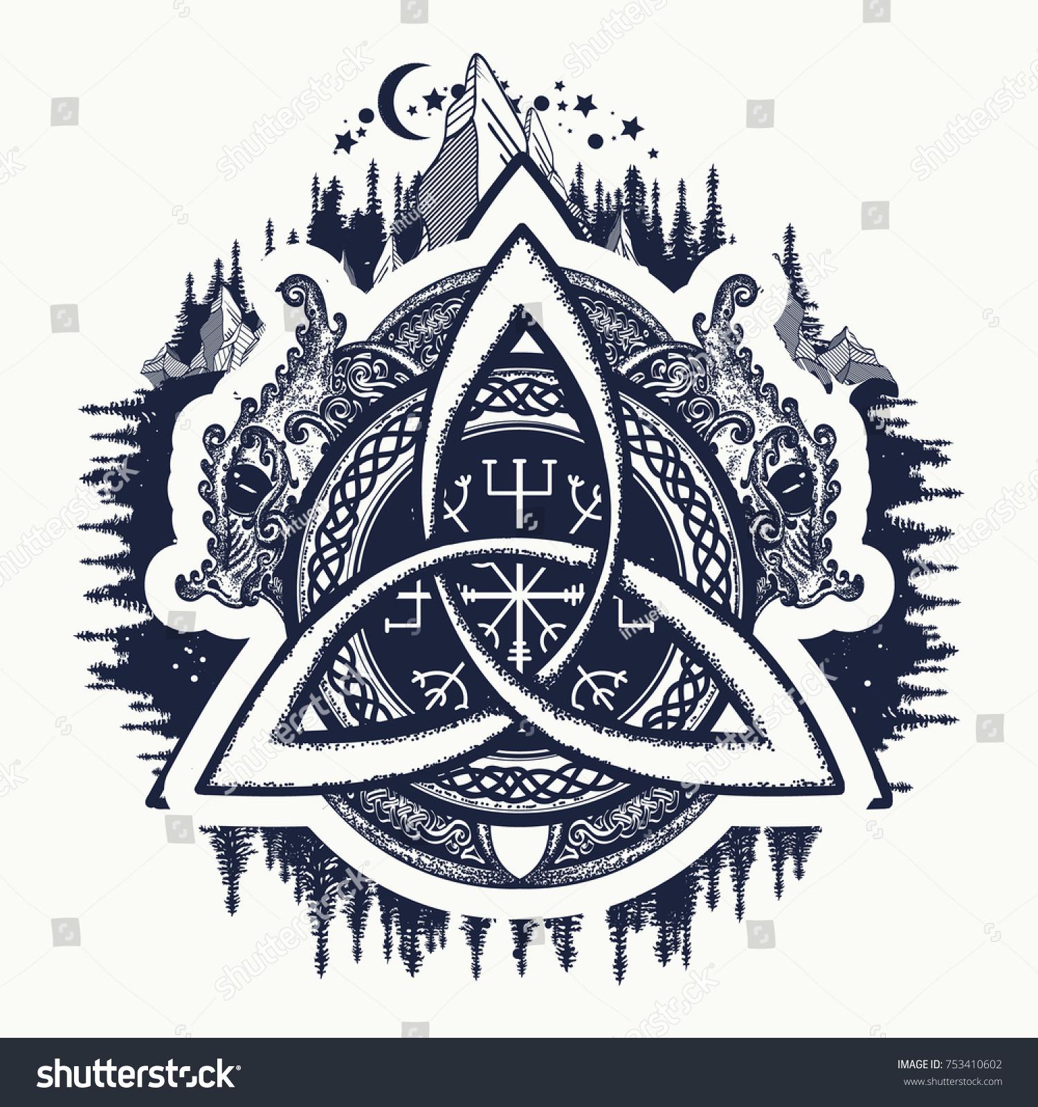 tatouage symbole viking best la rose des vents trouver son chemin with tatouage symbole viking. Black Bedroom Furniture Sets. Home Design Ideas