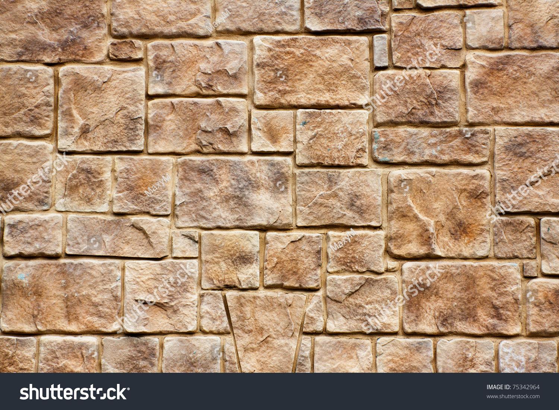 Foto stock a tema rock wall texture background modifica ora