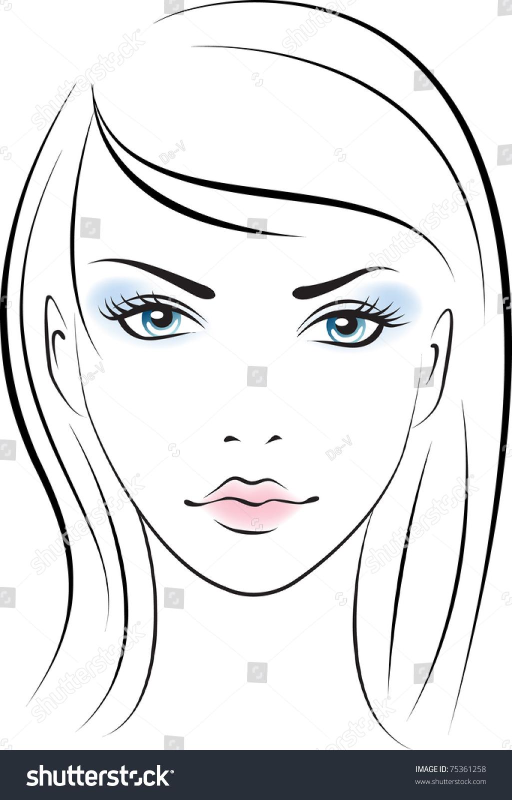 Раскраски макияжа для девочек