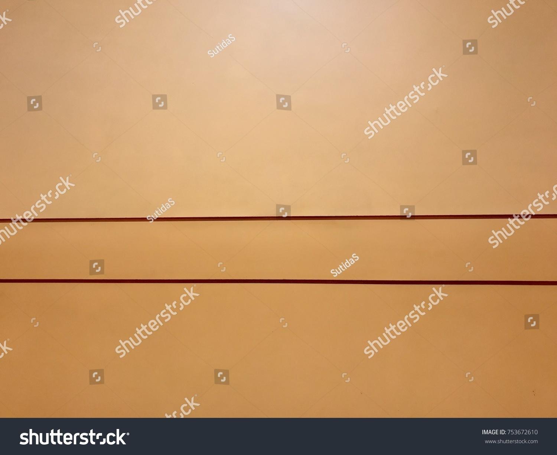 Modern Wall Decoration Horizontal Line Stock Photo 753672610 ...